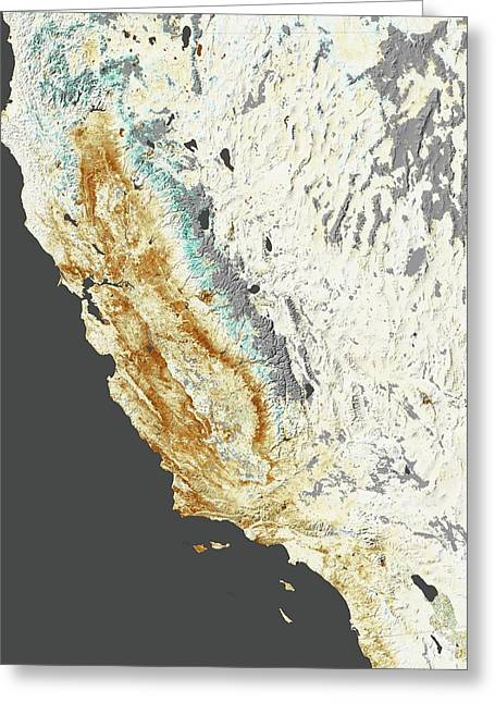 2014 California Drought Greeting Card