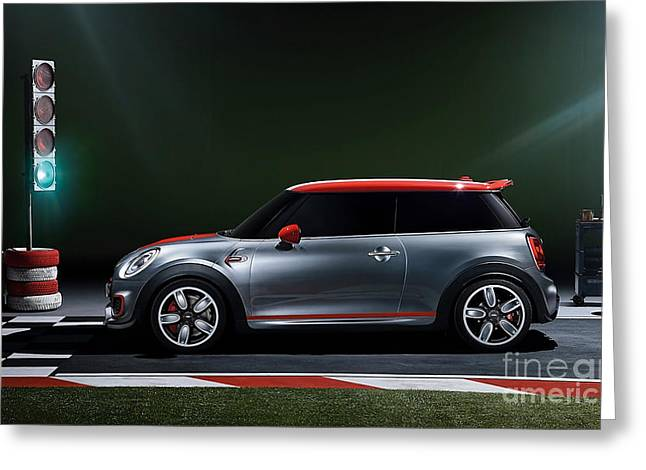 2014 John Cooper Works Mini Cooper  Greeting Card
