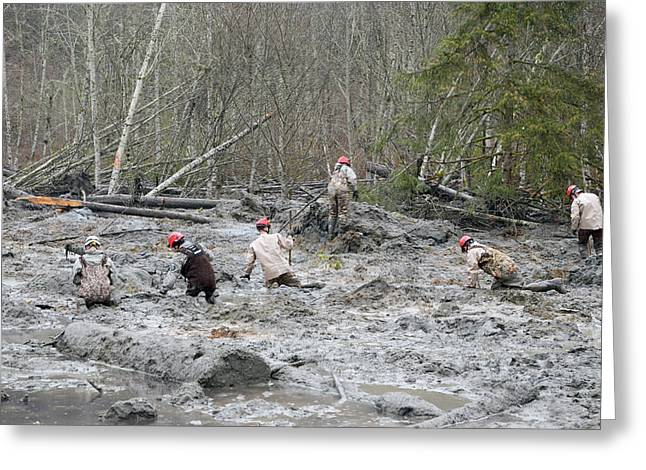 2014 Oso Mudslide Greeting Card