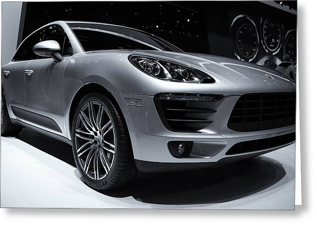 2014 Porsche Macan Greeting Card