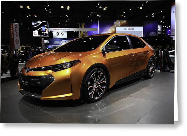 2014 Toyota Corolla Furia Concept Car Greeting Card
