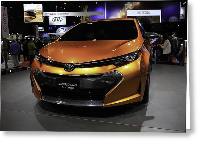 2014 Toyota Corolla Furia Concept Showcased At The Greeting Card