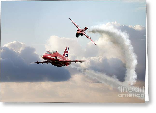 2015 Red Arrows Pair Greeting Card