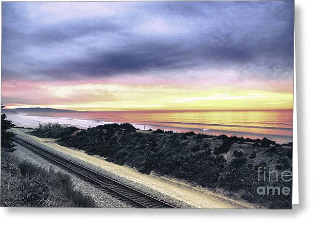 21-365 Sunset Greeting Card by Susie Talman