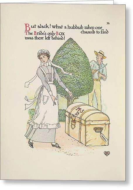 A Flower Wedding Greeting Card