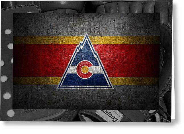 Colorado Rockies Greeting Card by Joe Hamilton