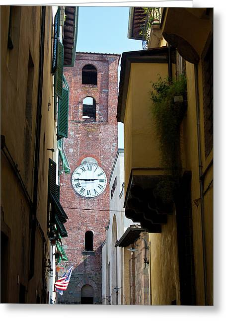 Europe, Italy, Lucca Greeting Card by Terry Eggers
