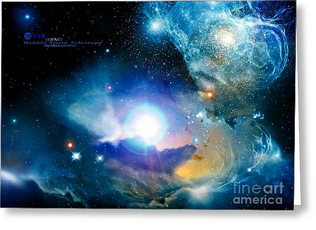 Hubble Greeting Card