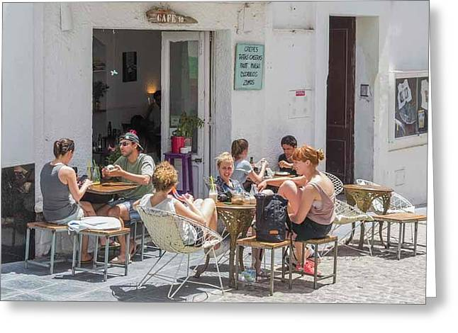 Tarifa, Costa De La Luz, Spain Greeting Card