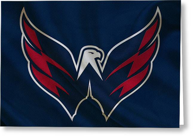 Washington Capitals Greeting Card by Joe Hamilton