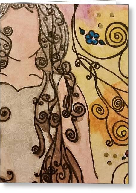 22 A Day  Greeting Card by Regina  Vasquez