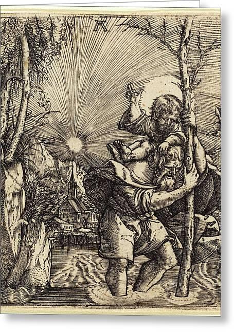 Albrecht Altdorfer German, 1480 Or Before - 1538 Greeting Card