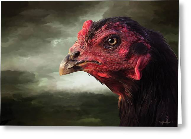 22. Game Hen Greeting Card