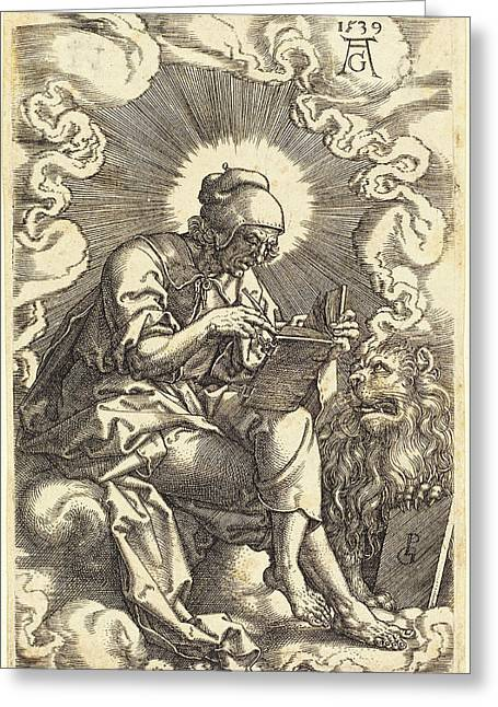 Heinrich Aldegrever German, 1502 - 1555-1561 Greeting Card by Quint Lox