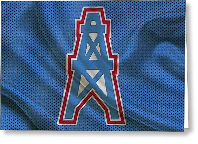 Houston Oilers Greeting Card