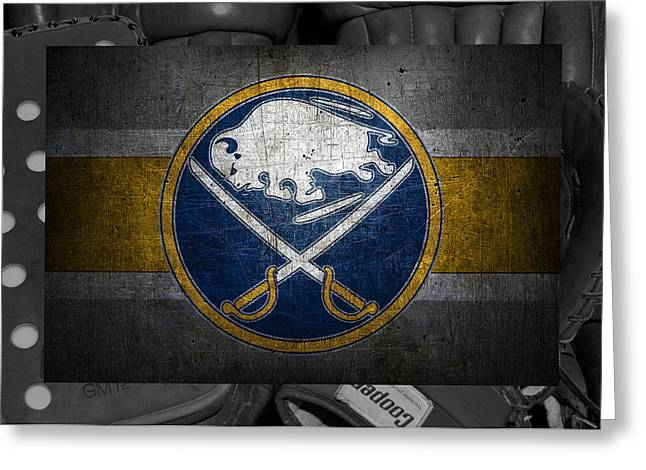Buffalo Sabres Greeting Card