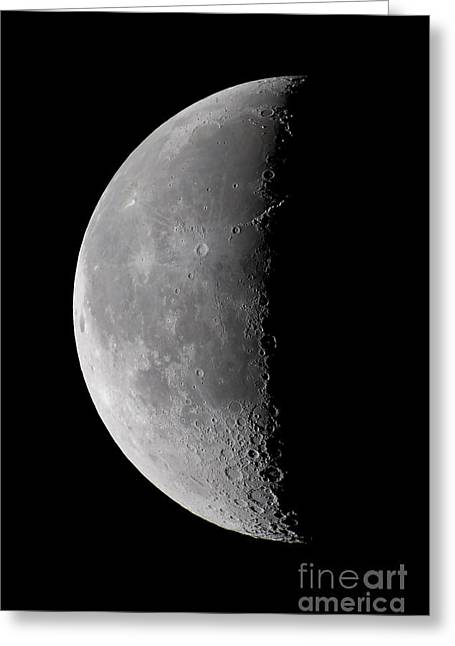 23 Day Old Waning Moon Greeting Card by Alan Dyer