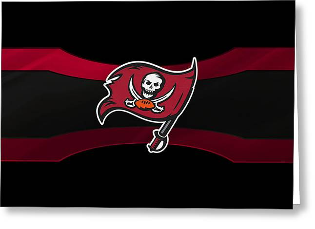 Tampa Bay Buccaneers Greeting Card