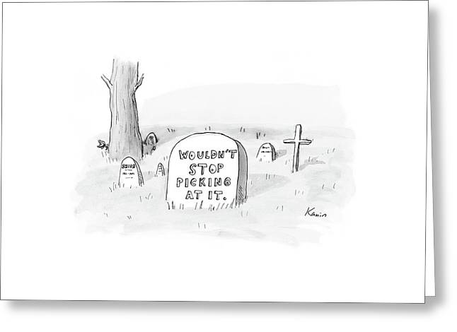 New Yorker October 16th, 2006 Greeting Card