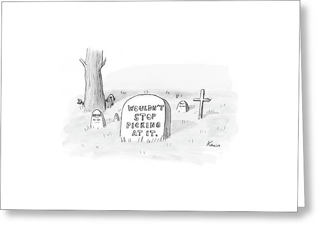 New Yorker October 16th, 2006 Greeting Card by Zachary Kanin