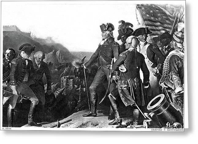 Yorktown Surrender, 1781 Greeting Card