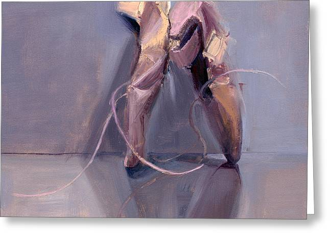 Ballet Shoes Greeting Cards - RCNpaintings.com Greeting Card by Chris N Rohrbach