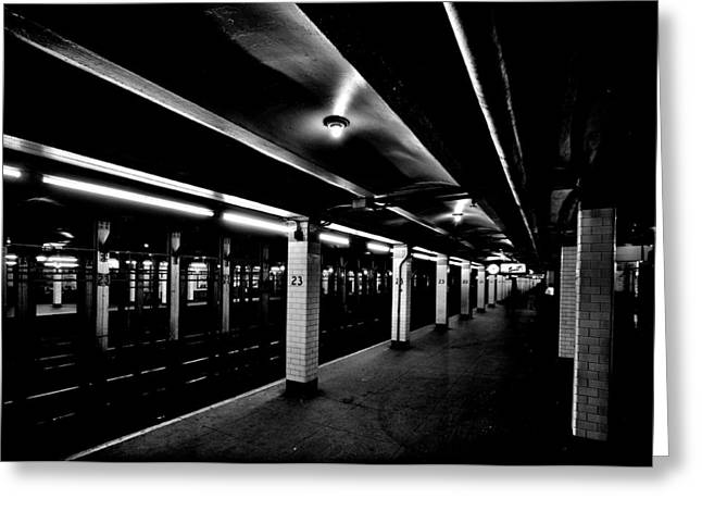 23rd Street Station Greeting Card by Benjamin Yeager