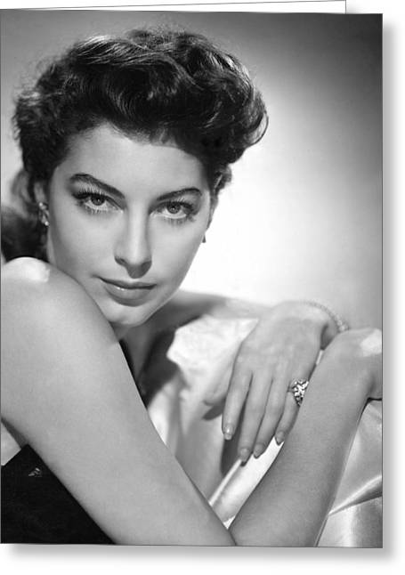 Ava Gardner Greeting Card
