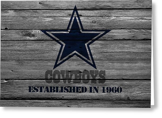Dallas Cowboys Greeting Card by Joe Hamilton