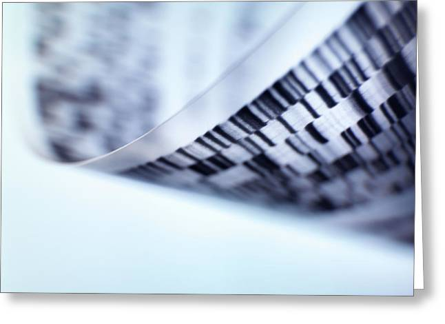 Dna Research Greeting Card by Tek Image