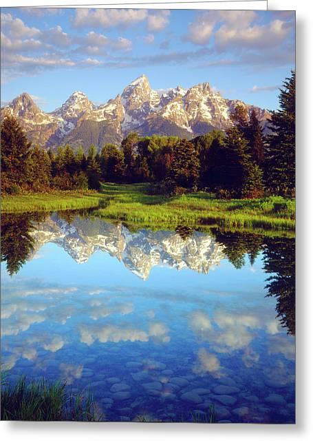 Usa, Wyoming, Grand Teton National Park Greeting Card by Jaynes Gallery