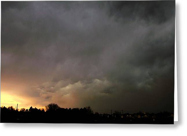 Greeting Card featuring the photograph Let The Storm Season Begin by NebraskaSC