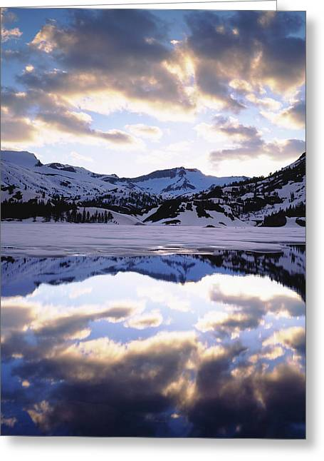 Usa, California, Sierra Nevada Greeting Card