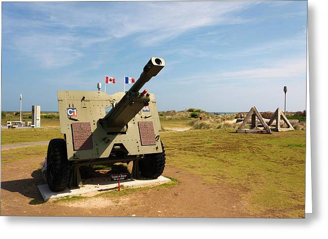 France, Normandy, D-day Beaches Area Greeting Card