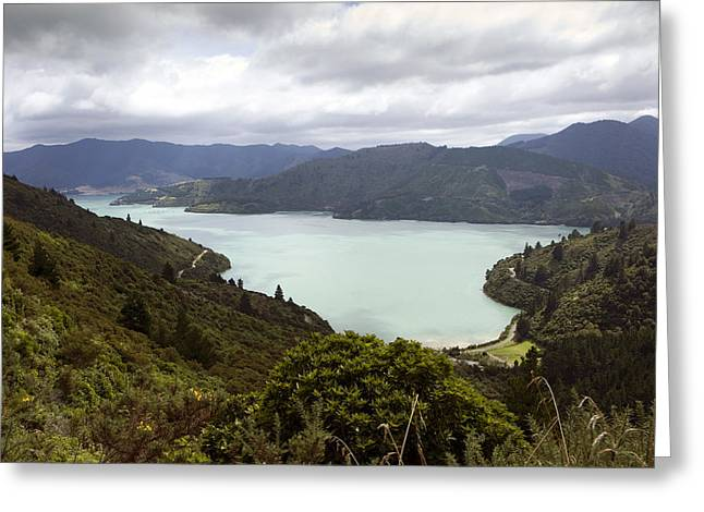 Queen Charlotte Sound Greeting Card
