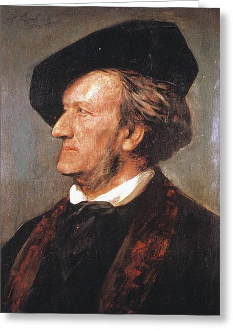 Richard Wagner (1813-1883) Greeting Card