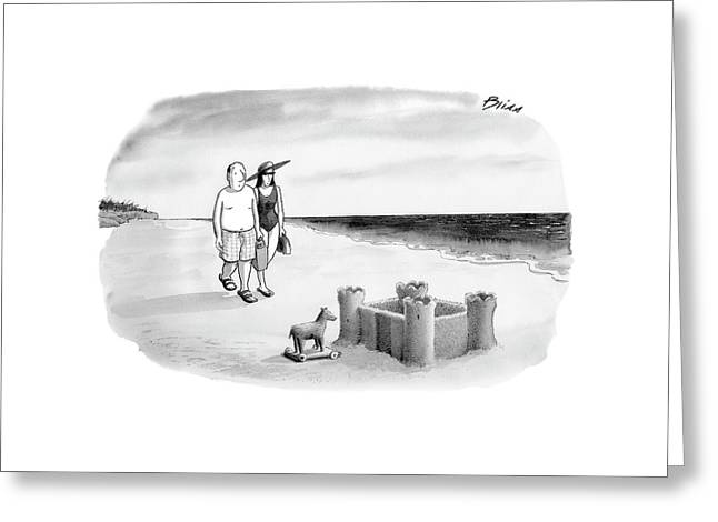 New Yorker June 12th, 2006 Greeting Card by Harry Bliss
