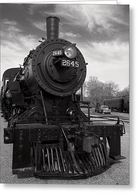 Greeting Card featuring the photograph 2645 by Chuck De La Rosa