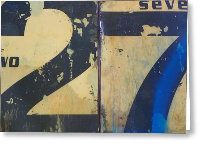 27 Greeting Card by Bernie Smolnik