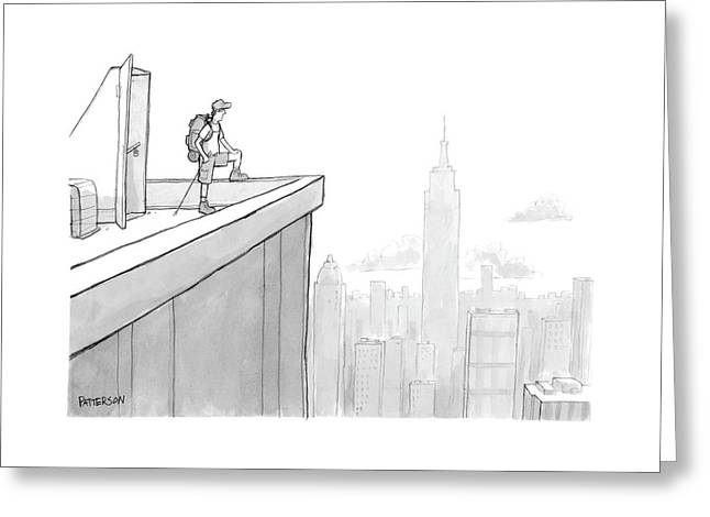 New Yorker August 1st, 2005 Greeting Card