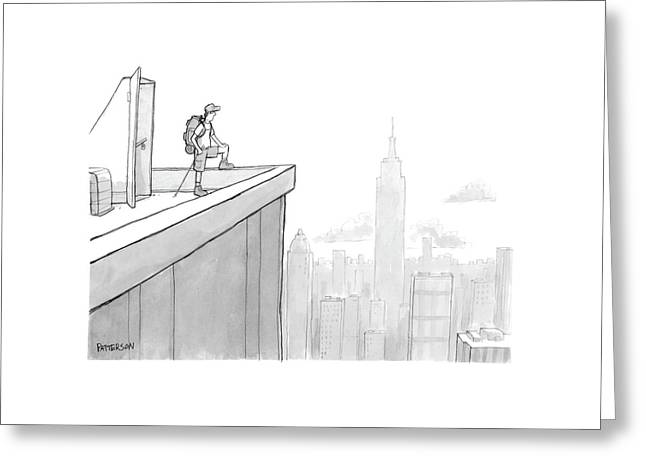 New Yorker August 1st, 2005 Greeting Card by Jason Patterson