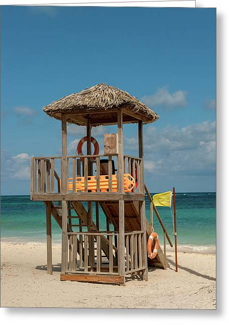 Dominican Republic, Punta Cana, Higuey Greeting Card