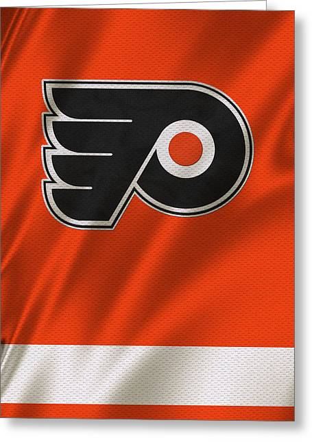 Philadelphia Flyers Greeting Card by Joe Hamilton