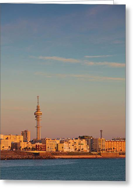 Spain, Andalucia Region, Cadiz Greeting Card