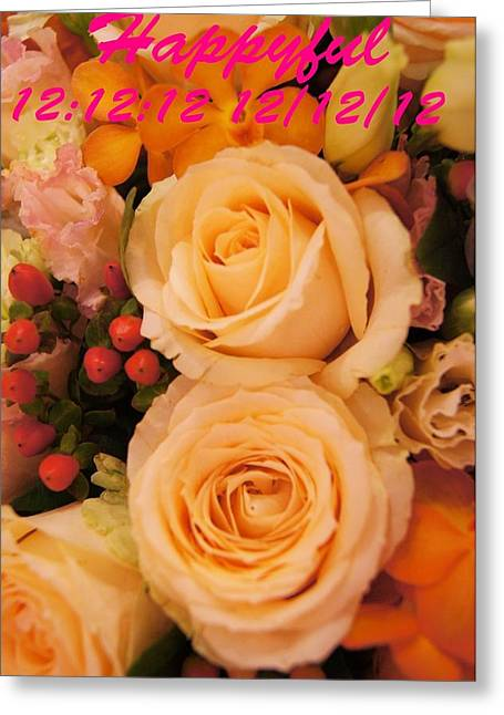 Flowers For You Greeting Card by Gornganogphatchara Kalapun