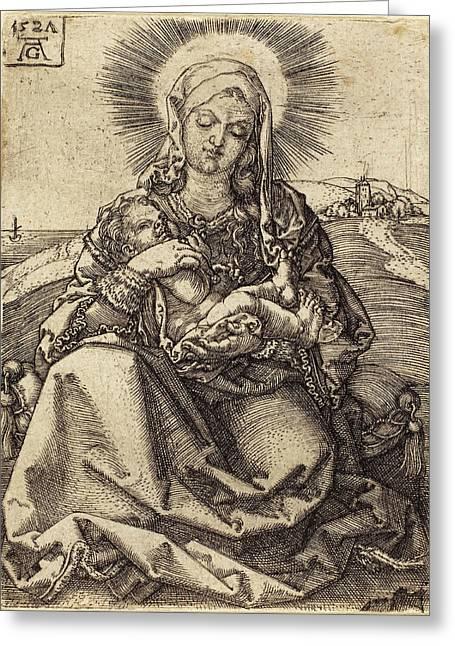 Heinrich Aldegrever German, 1502 - 1555-1561 Greeting Card