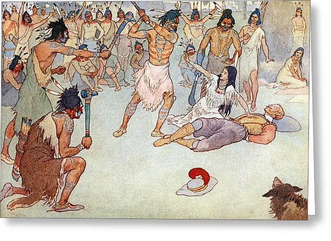 Pocahontas (1595?-1617) Greeting Card