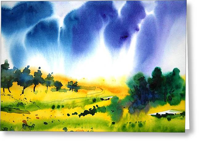 Sold Greeting Card by Sanjay Punekar