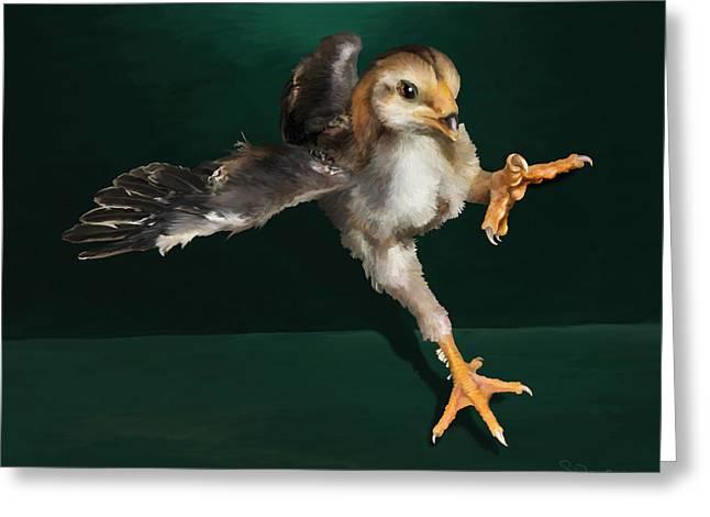 29. Yamato Chick Greeting Card