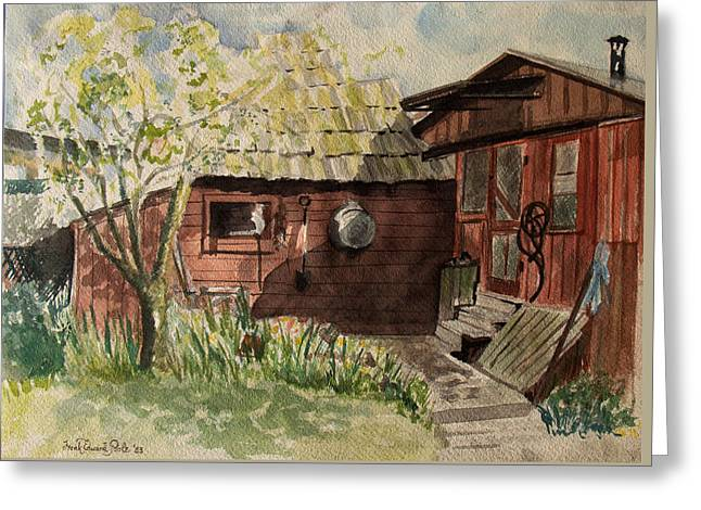 A Shanty Called Home Greeting Card